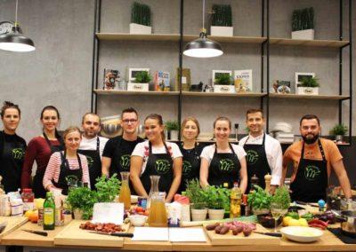 Warsztat kulinarny kuchnia hiszpańska 10.10.2018