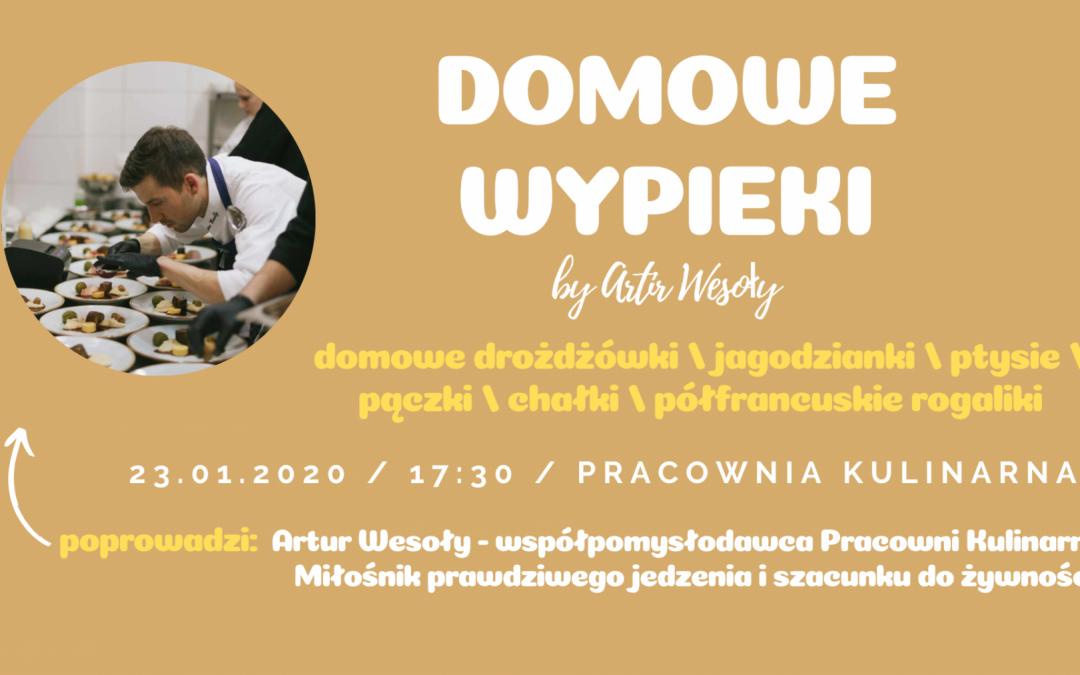 DOMOWE WYPIEKI by Artur Wesoły