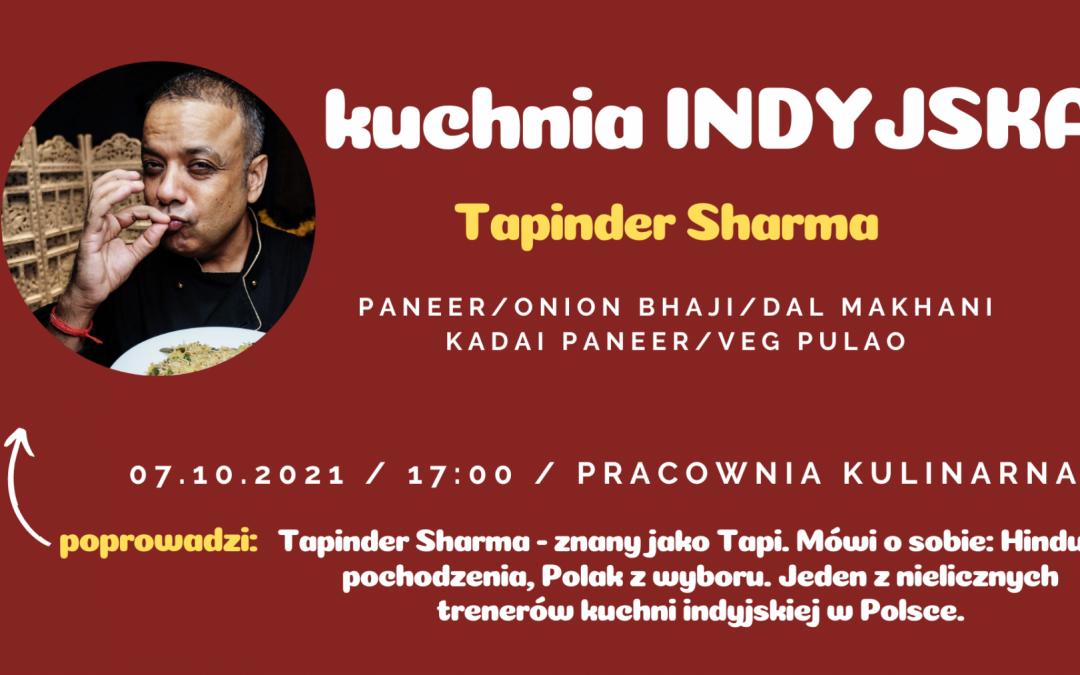 Kuchnia INDYJSKA – Tapinder Sharma